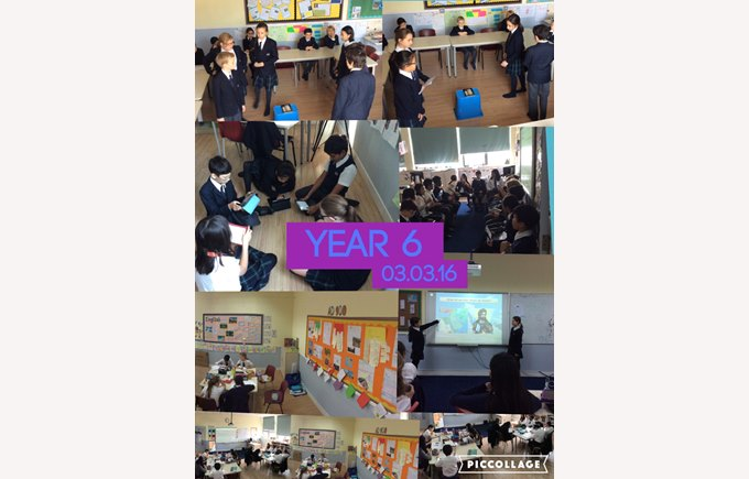 A week at a glance in Year 6