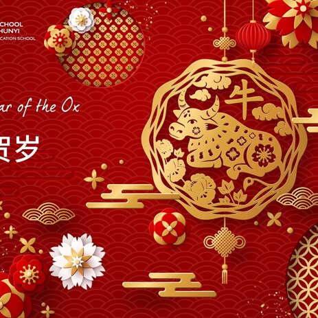 2021 Happy New Year of the Ox from BSBSY!