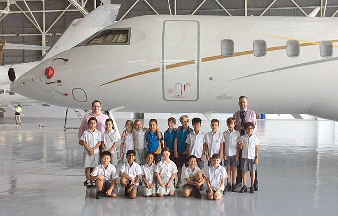 Year 4 STEAM Trip to Jet Aviation