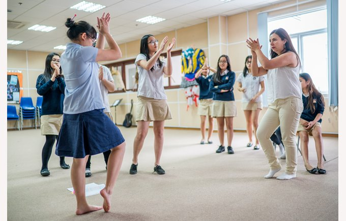 British International School Hanoi Secondary Performing Arts