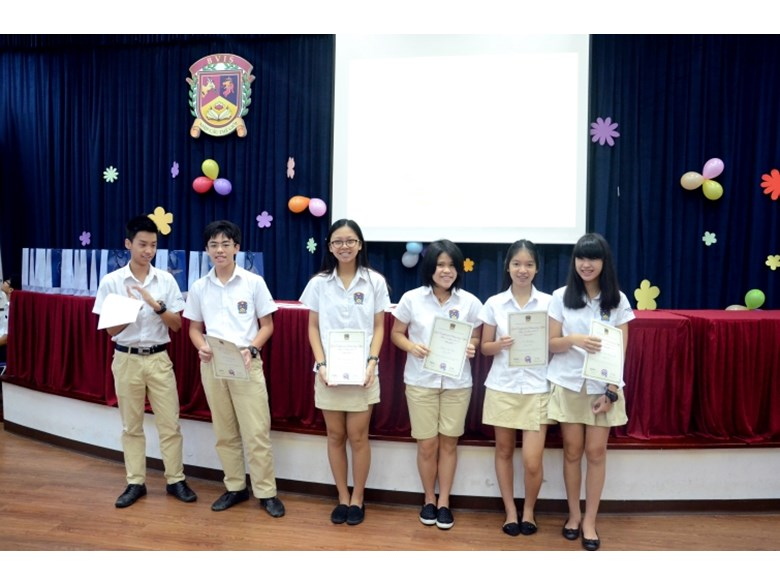 Secondary Prize Giving Year End 2015