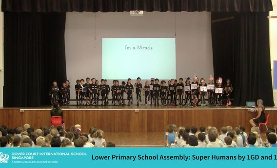 Super Humans Assembly by 1GD and 1SS