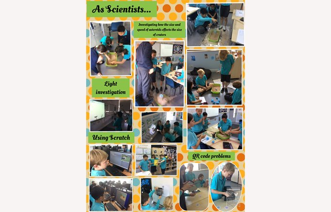 As Scientists...in Year 5