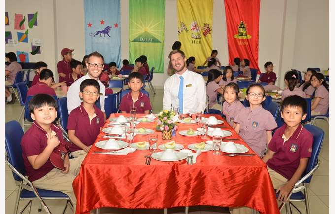 British International School Hanoi fine dining