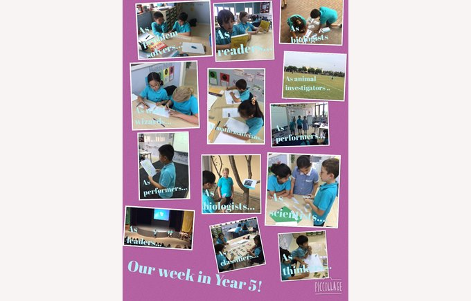 Our week in Year 5