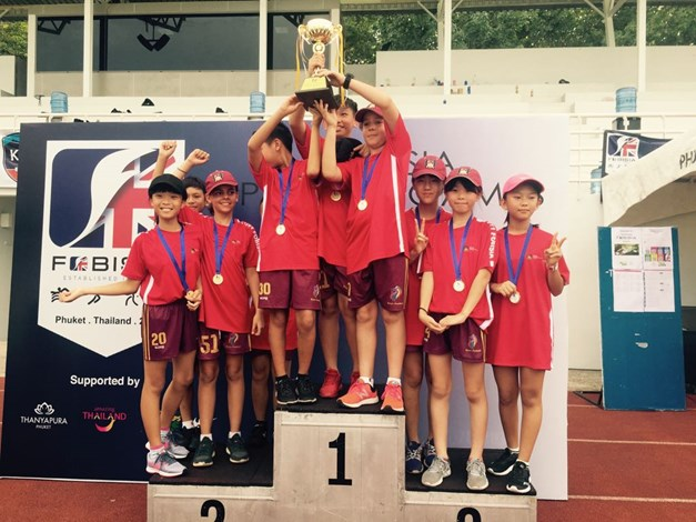 British International School Hanoi Under 11 FOBISIA 2018