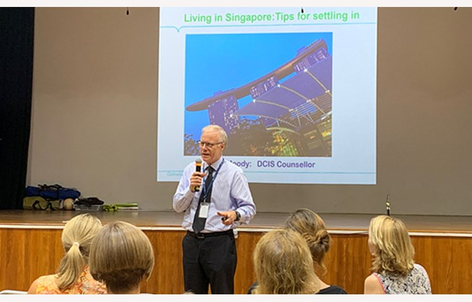 Parent Workshop - Living in Singapore, Tips for Settling in