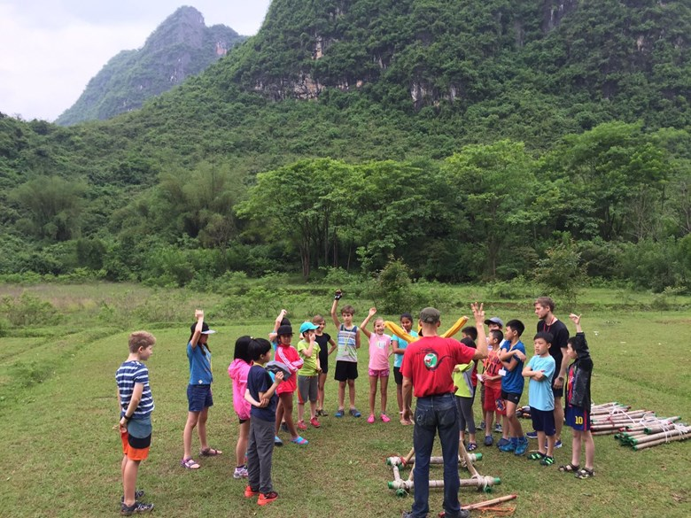 Year 5s in Yangshuo, Guilin China