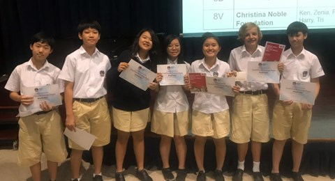 Year 8 English Advertising Competition - BIS HCMC