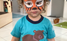 Animal Faces in Nursery