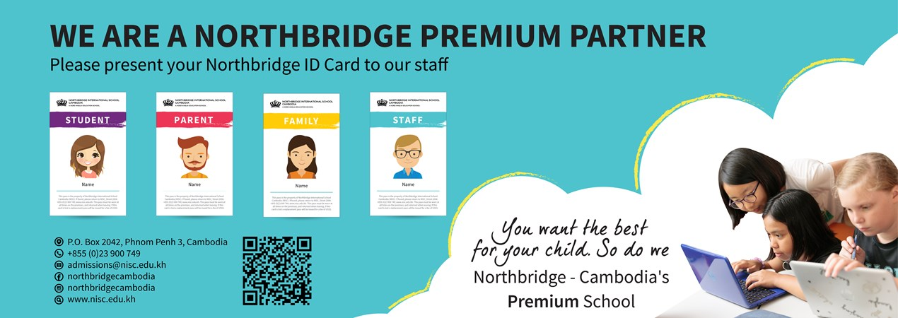 Northbridge International School Cambodia - Premium Partner