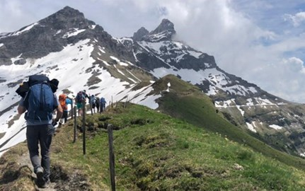 Dover Court International School's Expedition to Les Martinets, Switzerland 2019