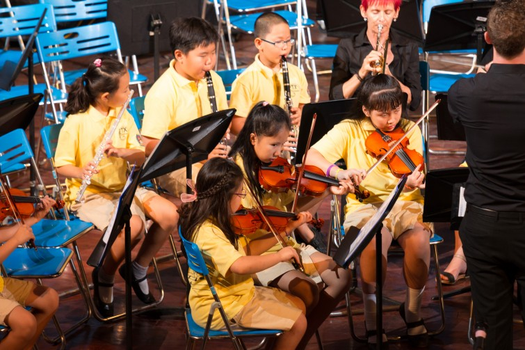 Tu Xuong Primary at BIS Spring Concert 2015