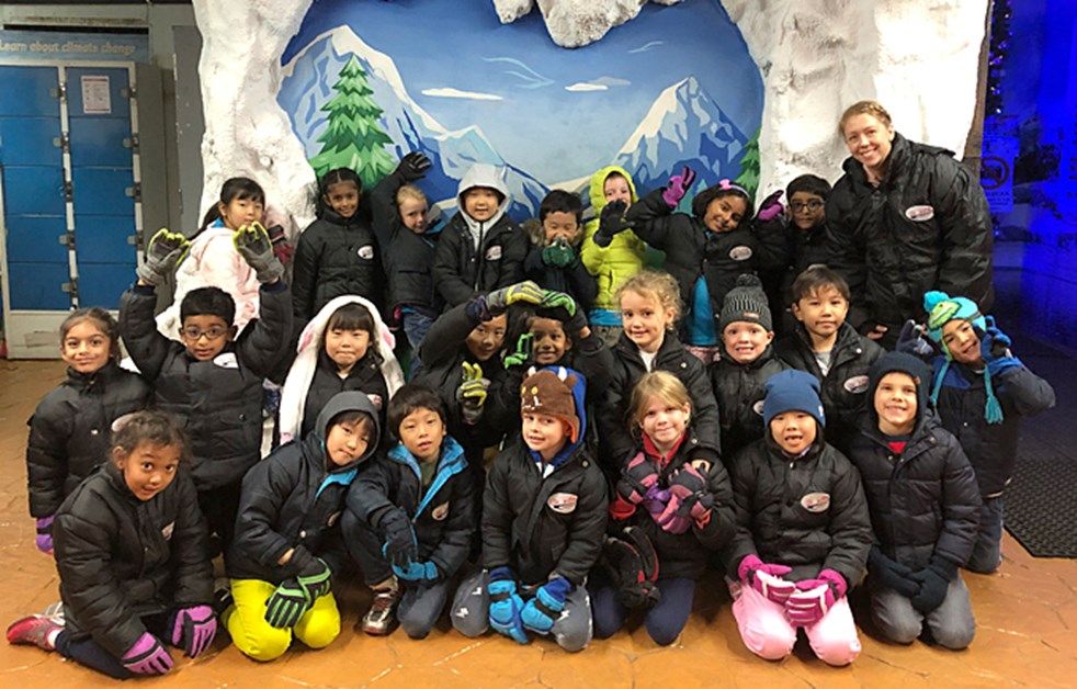 Dover Court Year 2 Visits Snow City