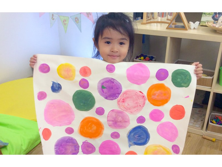 DCIS Early Years International Dot Day