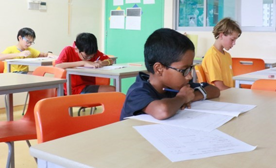 DCIS Students Compete in the Singapore Kangaroo Maths Contest