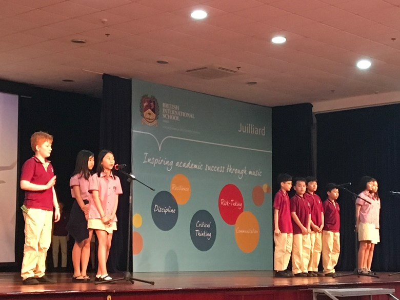 Britist International School Hanoi - 6B assembly