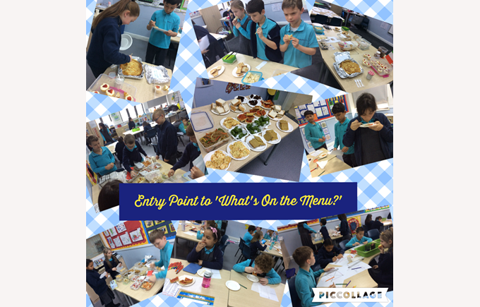 Year 4 'What's on the Menu?'