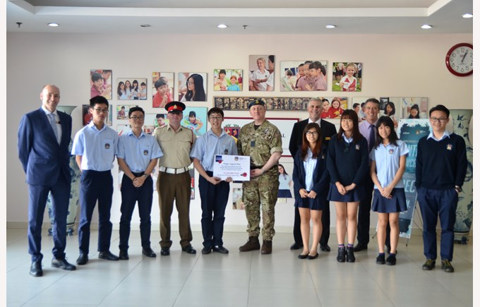 British International School Hanoi Remembrance day