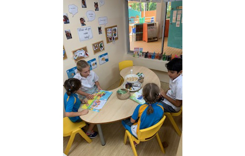 Dover Court International School Singapore 6JH and RSU Buddy Reading