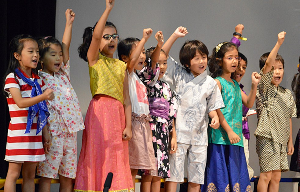 Lower Primary Assembly Our World by 2HB and 2TR