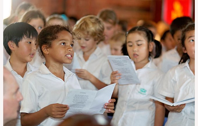 Upper Primary Concert St George's