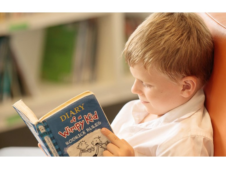 Phonological Awareness, Boy Reading