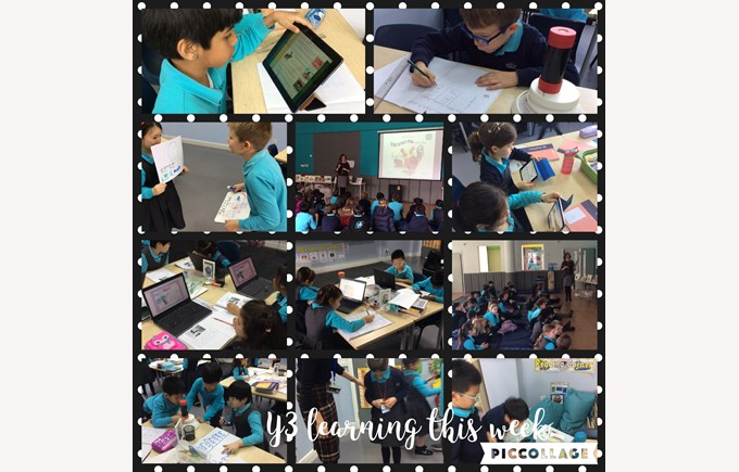 Year 3 learning this week
