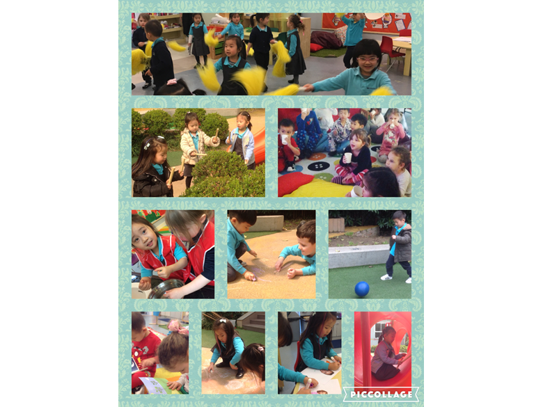 An action packed week in Nursery