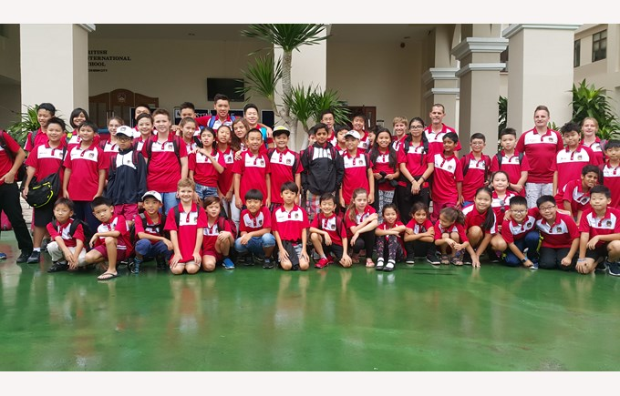 BIS Ho Chi Minh Mr Simon Higham weekly Update - UNIS swim