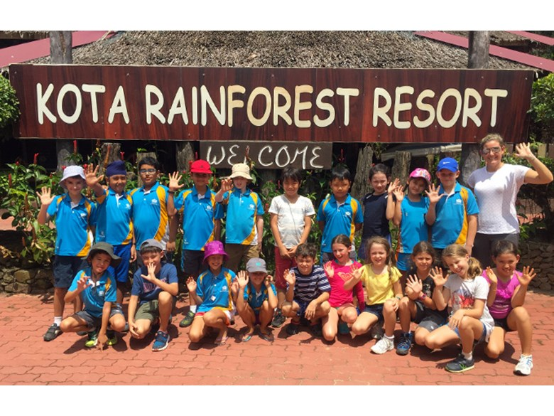 Year 4 Residential Trip to Kota Rainforest Group 1