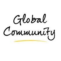Global community graphic