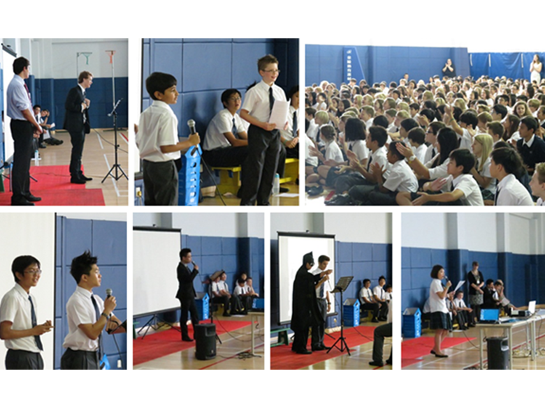 Student Elections at the British International School Shanghai, Puxi