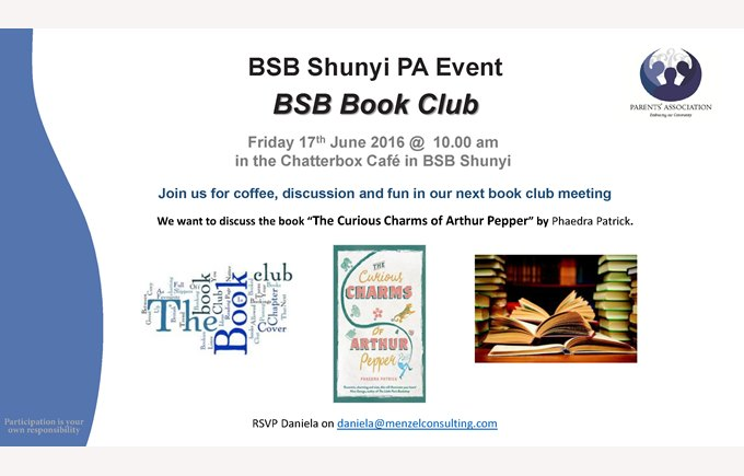 PA Book Club June 17