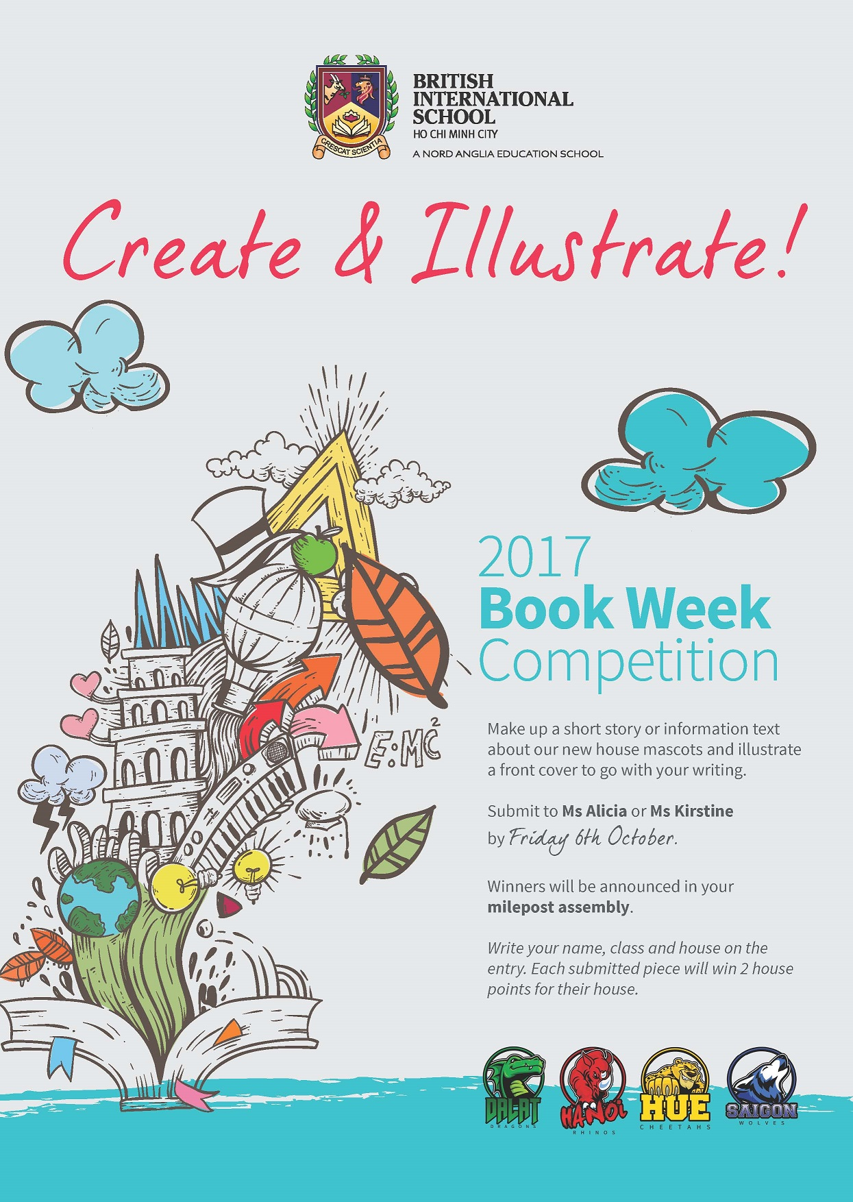 TX Book Week Poster
