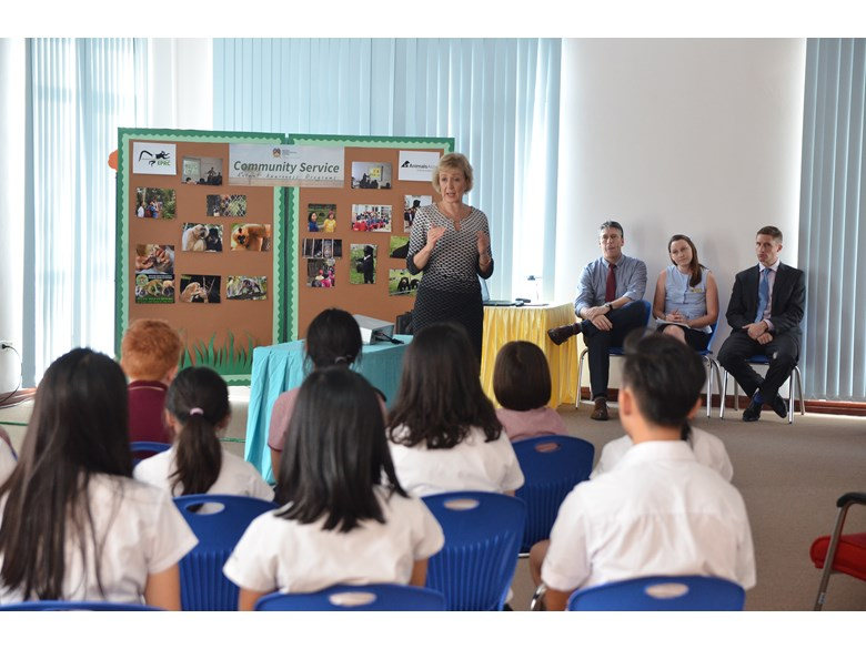 BIS Hanoi Students fight against the illegal wildlife trade