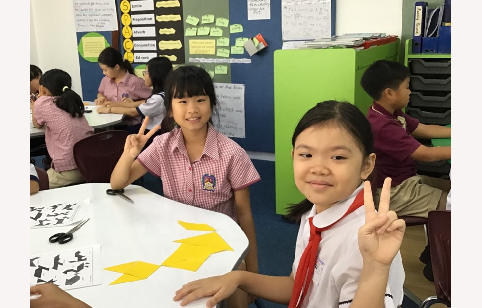 Year 4 community partner visit at Huyen Van Ngoi School 12