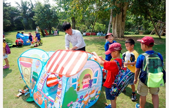 BVIS Hanoi student Y2 camping (3)