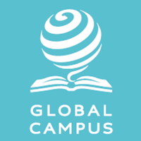 Global Campus white on pantone 200x200