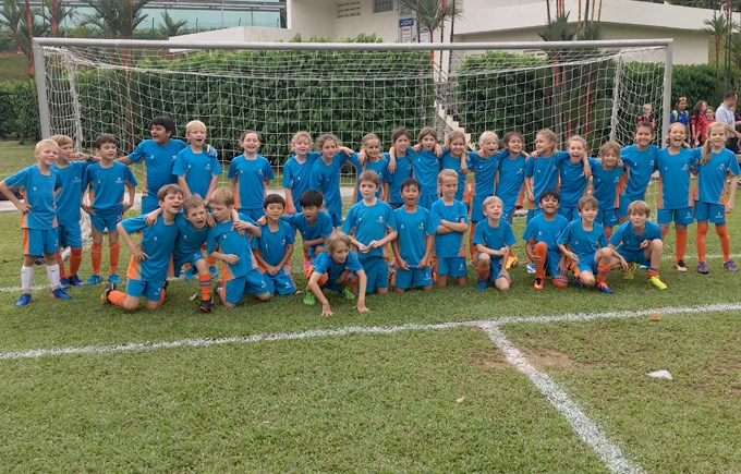 Under 9 Boys and Girls Football Teams