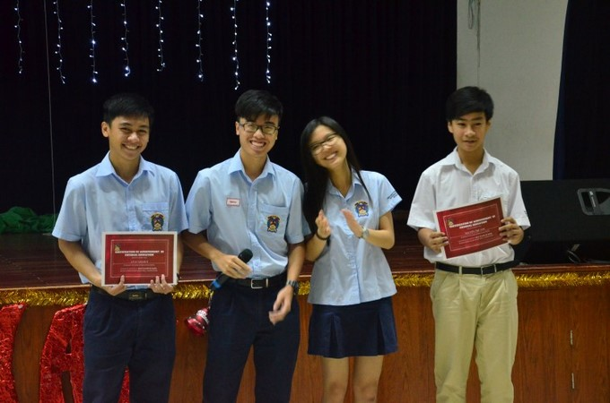 Secondary Award Winners Term 1