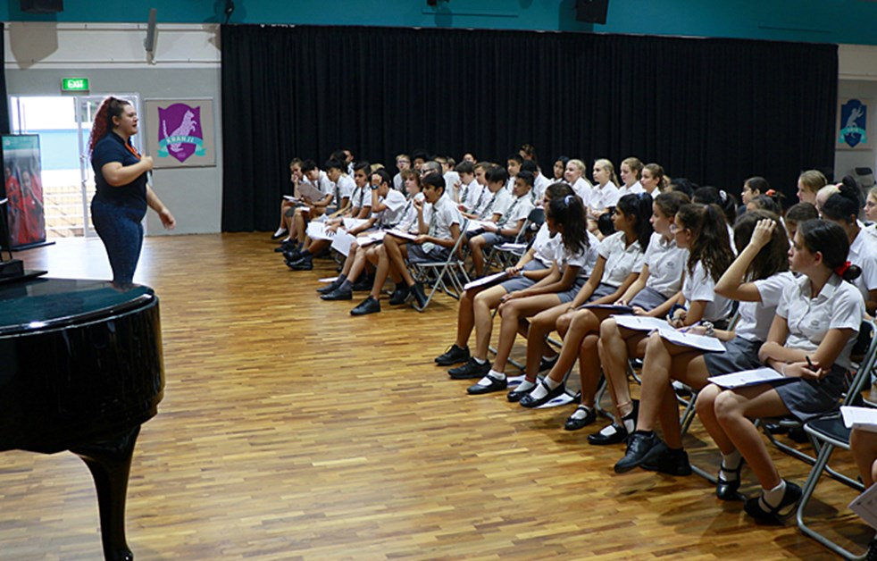 Dover Court Secondary Students participates in Study Skills Workshop