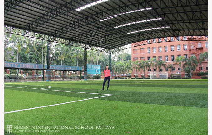 New Sports Pitch for boarding and day school students | Regents International School Pattaya