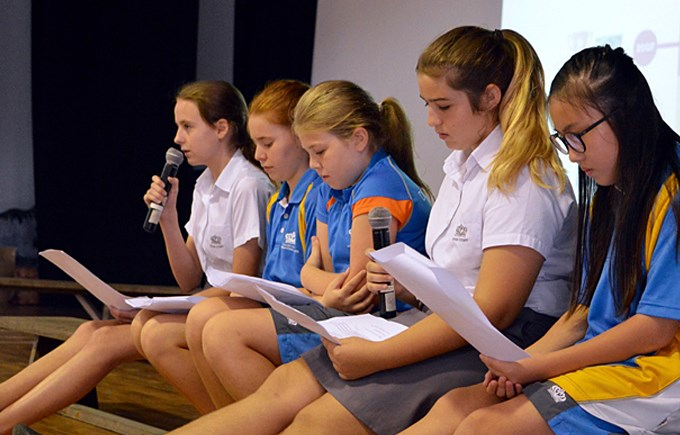 Women in Sport at Secondary School Assembly