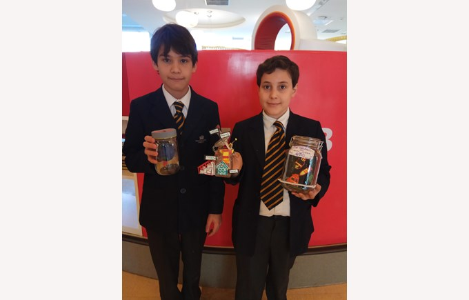 KS3 Book in a Jar