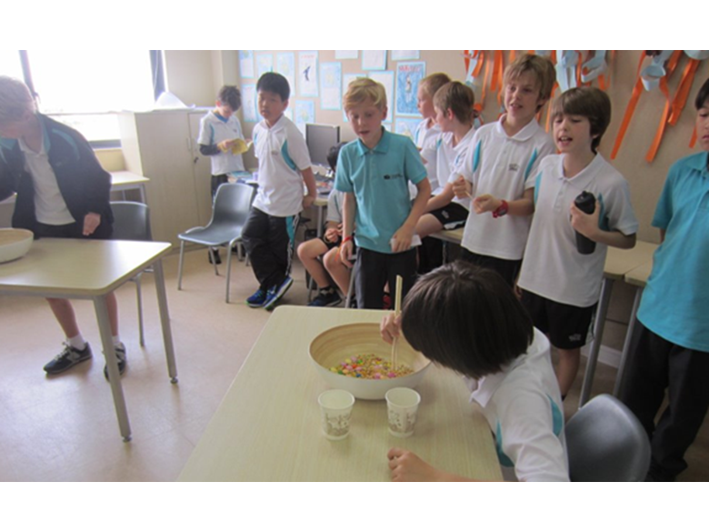 Year 5 students at The British International School Shanghai, Puxi kick off their themed learning unit about Space