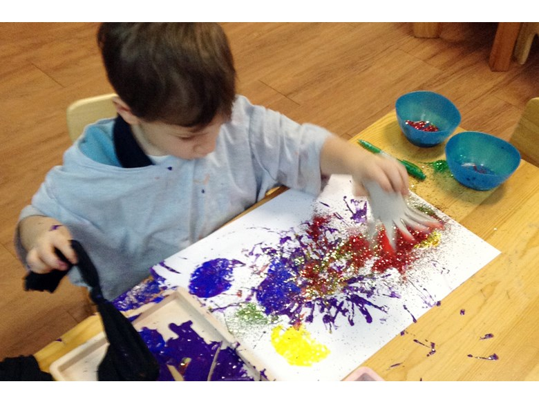 PN child painting