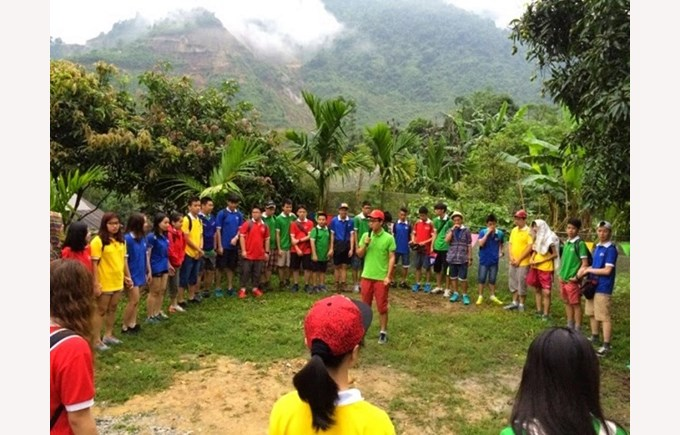 BVIS trip to Sapa Year 9 & 10