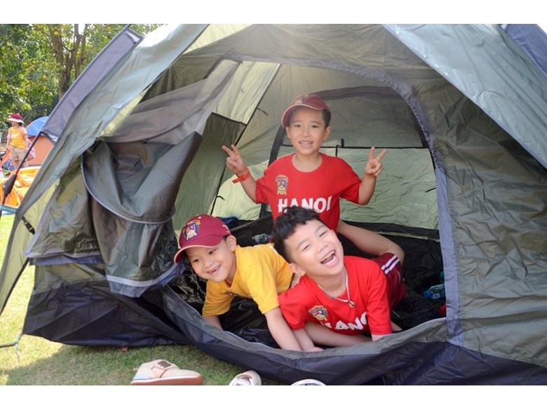 BVIS Hanoi student Y2 camping (1)