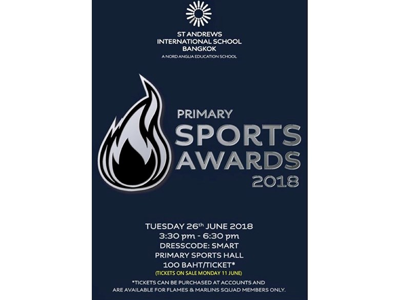 Primary Sports Awards 2018